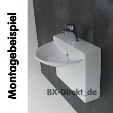 Kleiner Designer Wasserhahn, passt perfekt für das Gäste WC - Armatur klein