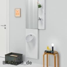 Wandurinal UP aus Keramik ein integriertes Urinal im Wandelement, optional mit Sensor