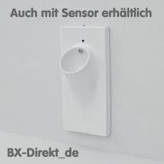 Wandurinal UP aus Keramik ein integriertes Urinal im Wandelement, optional mit Sensor Steuerung