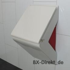 Keramik Urinal in Rot weiss optional Lotuseffekt Nano Beschichtung