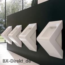 Gastro-Urinal aus Keramik Designer Pissoir weiß Pinkelbecken