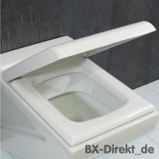 Original LaFontana WC-Sitz in Weiss mit Softclose