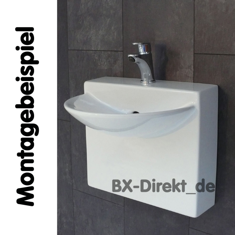 kleiner designer wasserhahn f r g ste wc armatur klein und formsch n. Black Bedroom Furniture Sets. Home Design Ideas