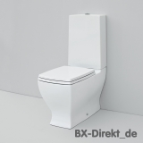 Italienische Monoblock Toilette, das Keramik Stand-WC JAZZ von ArtCeram