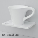 Aufsatzwaschtisch CUP Tasse Waschbecken Kaffeetasse aus Italien