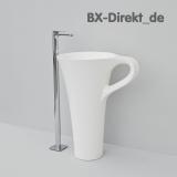 Designer Standwaschtisch CUP freistehendes Waschbecken Tassenform