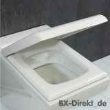 Original LaFontana WC-Sitz in Weiss mit Softclose