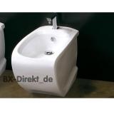 Stand-Bidet Hi-Line zum Schnäppchen Preis original Bidet bodenstehend von Hidra Keramik aus Italien aus Restposten von Lagerauflösung