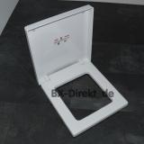 Softclose WC-Sitz in Weiss aus der Serie BLOCK