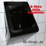 Ein echtes Schnäppchen - Gastro Urinal in Schwarz mit Kratzer an der Unterseite - B-Ware