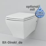 Hänge-WC im Retro-Stil als Keramik WC, die Toilette JAZZ aus Italien