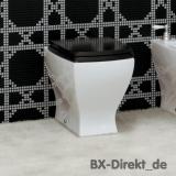 Retro-Stil WC JAZZ als Keramik Stand-WC, die Retro Stil Toilette aus Italien