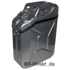 KaniBox Top silberfarbig Halterung silber