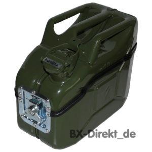 Vesperbox und Brotdose aus eine, Dieselkanister