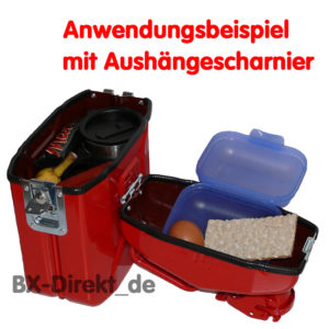 Lunch Box aus Metall