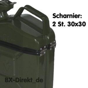Scharnier: 2 St. 30x30
