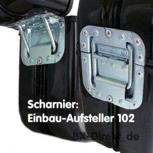Scharnier Einbau-Aufsteller 102 mm