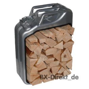 Kaminholz Korb aus Metall