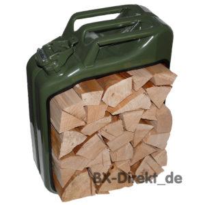 KaniBox Kaminholz oliv