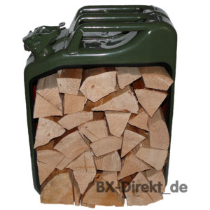 KaniBox Kaminholz grün