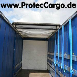 Ladungssicherung für Sattelauflieger